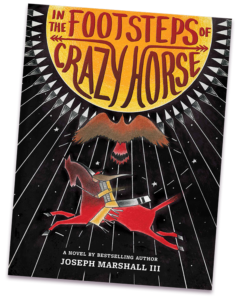 In The Footsteps of Crazy Horse book cover