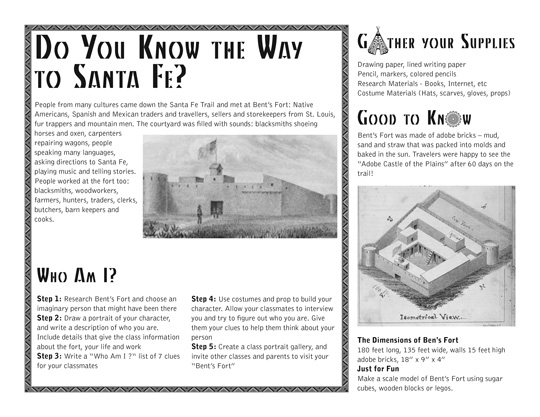 Kiowa Curriculum Sample Page