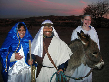Las Posadas at The Fort