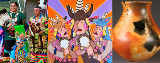 Dancers - Jesse Hummingbird - Pahponee